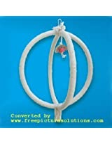 KSK DOUBEL ROPE CIRCUL SWING FOR BIRD