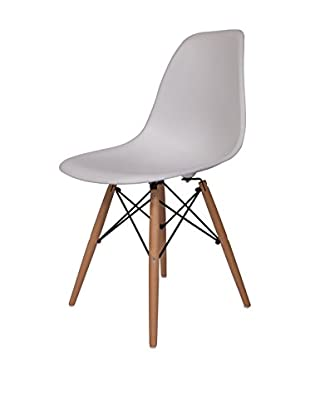 LeisureMod Dover Plastic Molded Side Chair