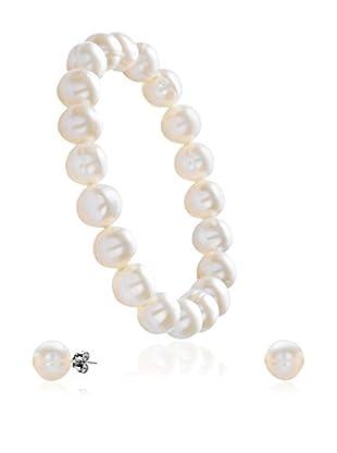 Face Me Set Armband und Ohrringe Pearls