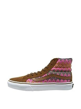 Vans Zapatillas U Sk8-Hi Slim (Marrón / Multicolor)