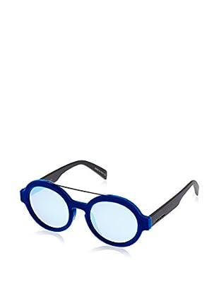 ITALIA INDEPENDENT Sonnenbrille 0913V-022-49 (49 mm) blau/schwarz