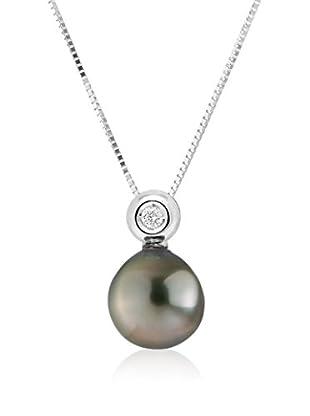 Manufacture Royale des Perles du Pacifique Halskette Prestige Closed Set schwarz