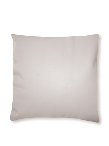 Natural Siena Leather Pillow (Off-white)