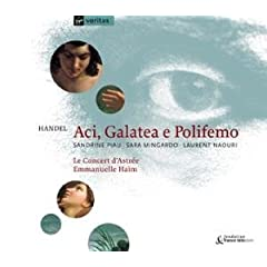 Handel: Aci, Galatea e Polifemo