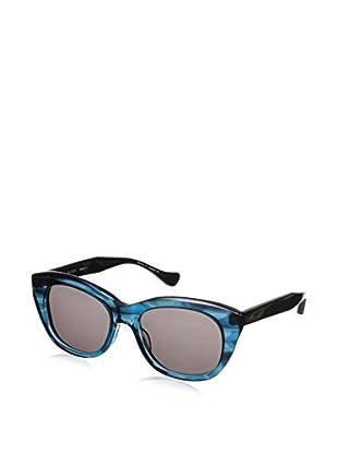 DITA Women's Savoy 22005 Sunglasses, Dark Blue Swirl Crystaline