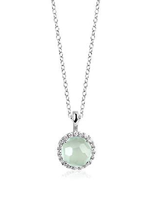 DI GIORGIO PARIS Halskette Mn16Ca rhodiniertes Silber 925