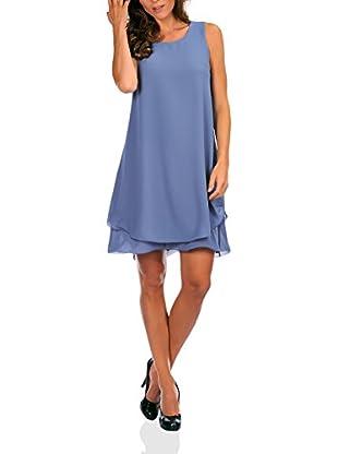 Bleu Marine Vestido Carry