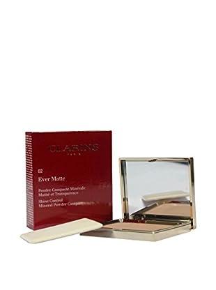 CLARINS Kompakt Puder Ever Matte 02 10 ml, Preis/100 ml: 279.5 EUR