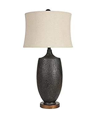 Surya Macrae 1-Light Table Lamp, Aged Black