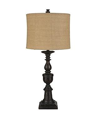 Surya Abbott 1-Light Table Lamp, Textural Bronze