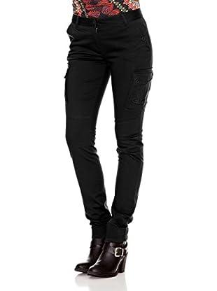 Desigual Pantalón Anxoa (Negro)