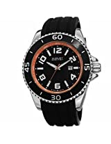 August Steiner Black Mens Watch As8099Or