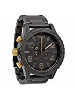 Nixon 51-30 Chrono Graph Matte Black Analog Mens Watch A0831041