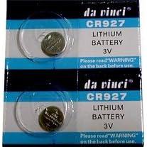 【クリックで詳細表示】FJK リチウム ボタン電池(lithium battery)CR927(2個セット): 家電・カメラ