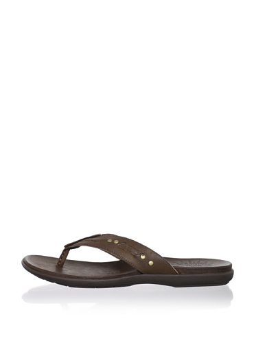John Varvatos Star USA Men's Togabo Stud Sandal (Wood Brown)