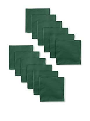 Garnier-Thiebaut Set of 12 Confetti Napkins, Green
