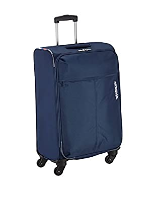 American Tourister Trolley, halbstarr AT Toulouse 2.0 Spinner marine 66 cm