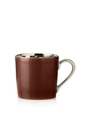 Haviland Laque de Chine Platinum 3.5-Oz. Cup, Chocolate