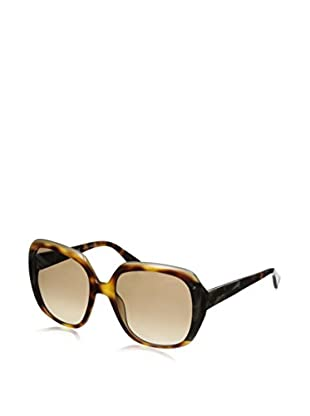 Lanvin Women's SLN593 Sunglasses, Light Havana