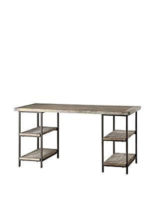 Luxury Home Cirque Desk Table, Grey