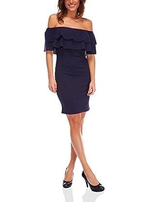 Bleu Marine Kleid