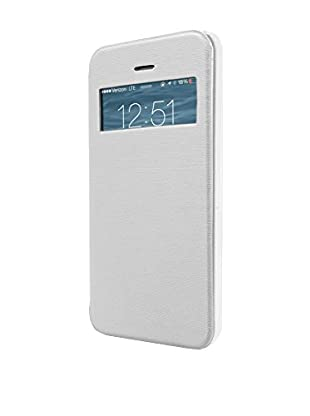 UNOTEC Funda Flip-S iPhone 5 / 5S Blanco