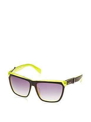 Diesel Gafas de Sol Dl0128 (61 mm) Negro / Amarillo Flúor