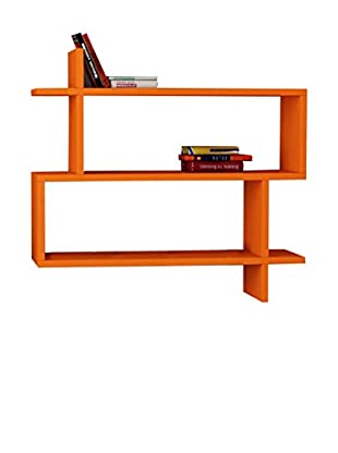 Best Seller Living Wandregal Paralel orange