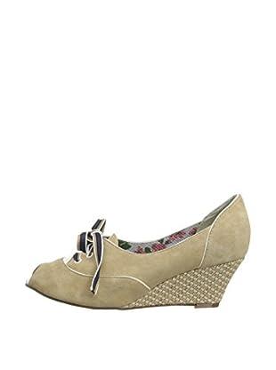 Poetic Licence Zapatos con cuña Cream of the Crop (Beige)