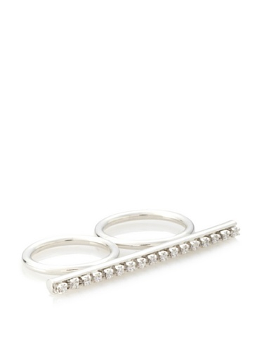 Jules Smith Silver Queen Bee Knuckle Lover Ring, 6/7