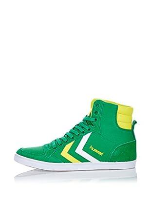 Hummel Sneaker Slimmer Stadil High (grün)