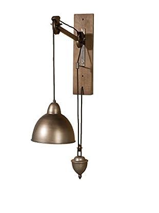 Wall Lamp, Brown