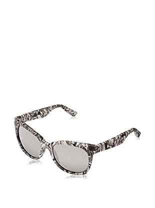Mcq Alexander McQueen Sonnenbrille MCQ 0001/S (54 mm) weiß/dunkelgrau