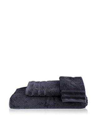 bambeco 3-Piece Organic Cotton 700 Gram Towel Set, Indigo