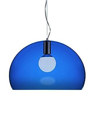 Kartell Pendelleuchte Fl/Y blau