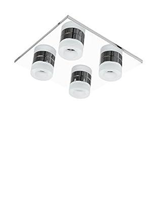 WOFI Deckenlampe LED Logan chrom