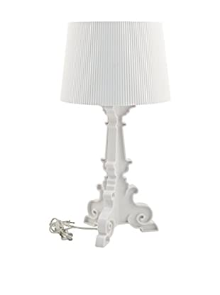 Modway French Table Lamp, White