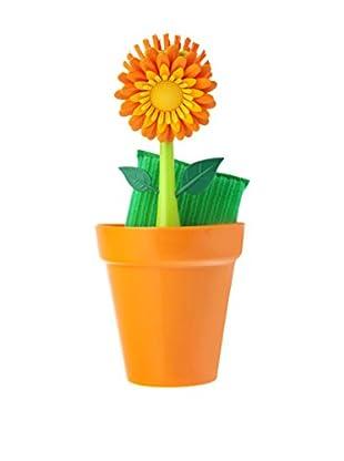 VIGAR Kit de Limpieza 3 Piezas Geranium Naranja / Verde