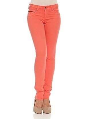 Pepe Jeans London Pantalón New Brooke (Naranja Oscuro)