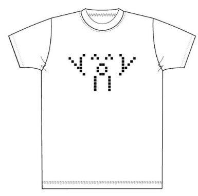 2ちゃんねる オワタ Tシャツ (L, 白)