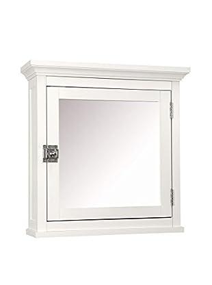 Elegant Home Fashions Madison Avenue Medicine Cabinet, White