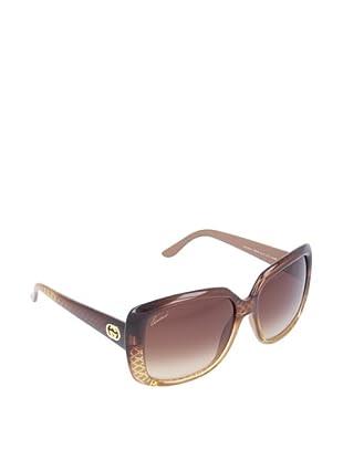 Gucci Gafas de Sol GG 3574/S OH W8N Marrón Claro Dorado