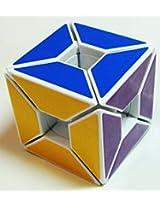Lanlan Edge Only Void Cube - White