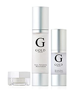Gold Serums Gesichtspflegeset 3 tlg. Set 30ml + 30ml + 8ml
