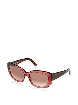 Tod'S Gafas de Sol TO0142 (57 mm) Fresa / Negro