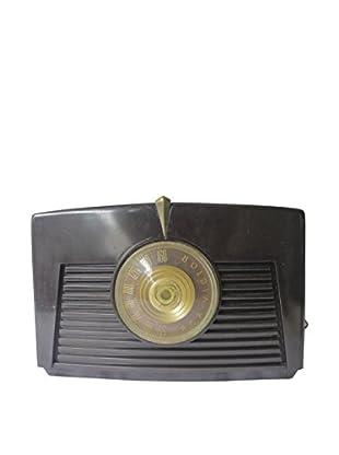 1940s Vintage RCA Victor Radio, Brown/Gold