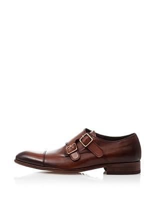 Pedro del Hierro Zapatos Vestir Classic 2 Hebillas (Marrón)