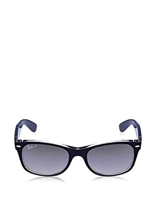 Ray-Ban Sonnenbrille Polarized New Wayfarer (55 mm) blau