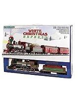 Bachmann White Christmas Express Ready To Run Electric Train Set - Large