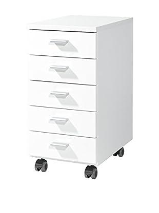 Germania Schubladenschrank 4099 weiß